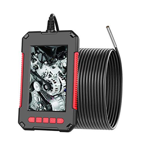 Kecheer Endoscopio telecamera di ispezione tubi industriale impermeabile IP67,Endoscopio ispezione 1080P HD, Boroscopio endoscopio USB con 6 luci a led,3.9mm lente