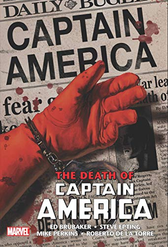 Compare Textbook Prices for CAPTAIN AMERICA: THE DEATH OF CAPTAIN AMERICA OMNIBUS HC EPTING DEATH OF THE DREAM COVER NEW PRINTING  ISBN 9781302929619 by Brubaker, Ed,Epting, Steven,Perkins, Mike,Guice, Butch,de la Torre, Roberto