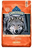 Blue Buffalo Wilderness High Protein Grain Free, Natural Adult Large Breed Dry Dog Food, Chicken 24-lb (596175)