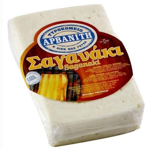 Greek Saganaki Cheese