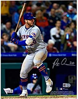 Pete Alonso Autographed New York Mets 8x10 Photo - Fanatics