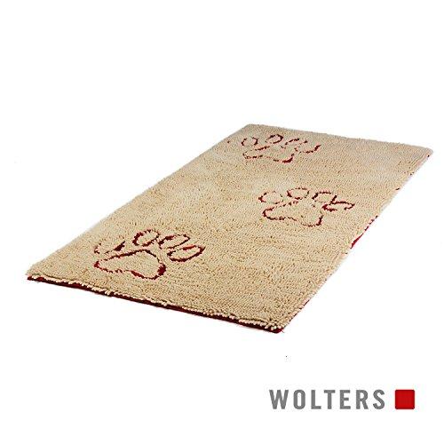 Dirty Dog Runner 120 x 60 cm sand - Schmutzmatte für Hunde