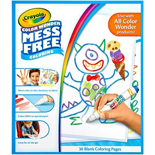 Crayola 752479 Cw 30 Page Plain Paper