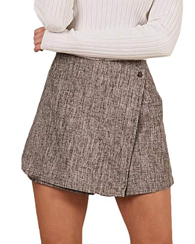 Crystallly Rock leer dames lente Young Fashion Rok Vintage High Waist met rits Slim Formal Comfortabel