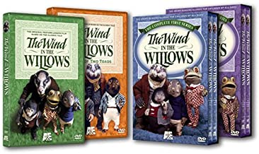 The Wind in the Willows Four-Pack (Original Film / First Series / Second Series / A Tale of Two Toads)
