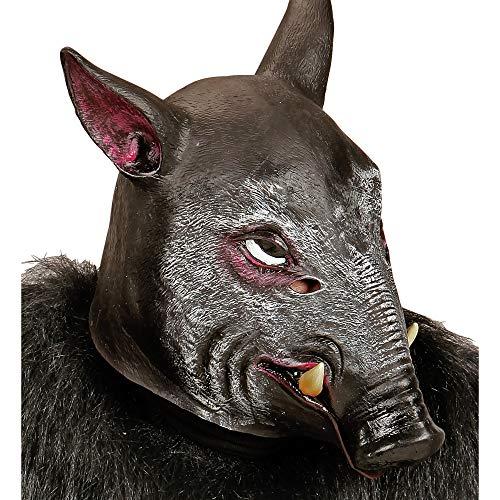 Ganzkopfmaske Wildschwein