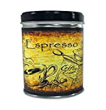 Our Own Candle Company Espresso Scented Candle in 13 Ounce Tin with a Coffee Label