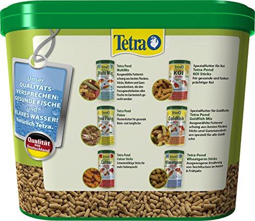Tetra Pond Sticks (Hauptfutter für alle Gartenteichfische in Form von schwimmfähigen Sticks), 7 Liter Eimer - 3