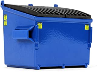 First Gear 1/34 Scale Diecast Collectible Blue Trash Bin (90-0534)