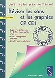 Réviser les sons et les graphies CP-CE1 - Repérer et différencier les différentes graphies d'un son, fixer l'orthographe des mots, enrichir son vocabulaire