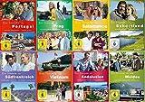 Ein Sommer in Portugal, Südfrankreich, Prag, Andalusien ... (8 DVDs)