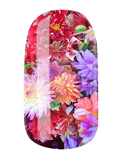 VENGANAILS Nagelfolie - Flower Surprise, High Performance Nail Wraps, zelfklevend, geen import uit China, MADE IN GERMANY