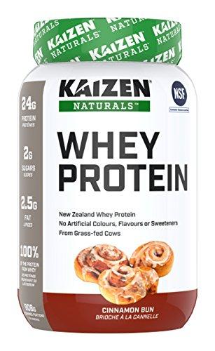 Kaizen Naturals Whey Protein Cinnamon Bun, 908 g