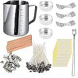 Fabricaci¨n de la vela DIY Kit de cera de la vela Set velas artesanales Herramientas de bricolaje vela Pot Copa Set Kit de fabricaci¨n de velas