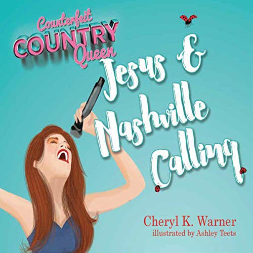 Counterfeit Country Queen audiobook cover art