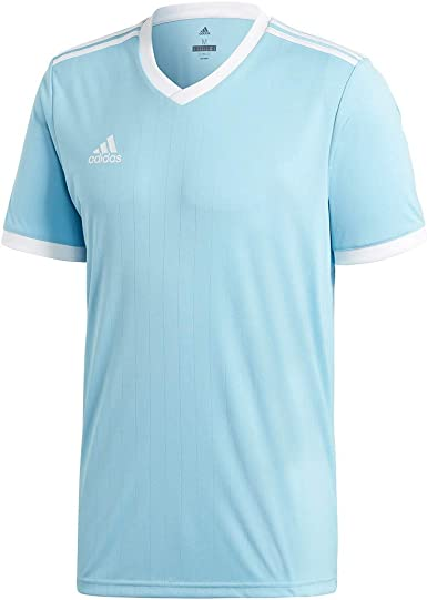 adidas Tabela 18 Jersey - Adult - Clear Blue/White - XXL