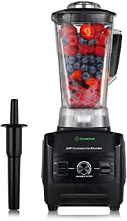 Cleanblend Commercial Blender - 64 Oz Countertop Blender 1800 Watt Base - High Performance Ice Crusher - Large Smoothie Bl...