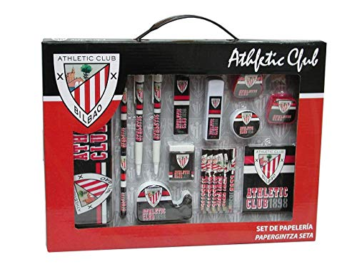 Athletic Club Bilbao–Set Schreibwaren groß in Box (gs-10-ac)
