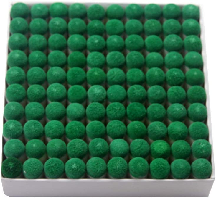 VORCOOL 100PCS Billiards SEAL limited product Pool 10MM Tips Cue cheap Replacement