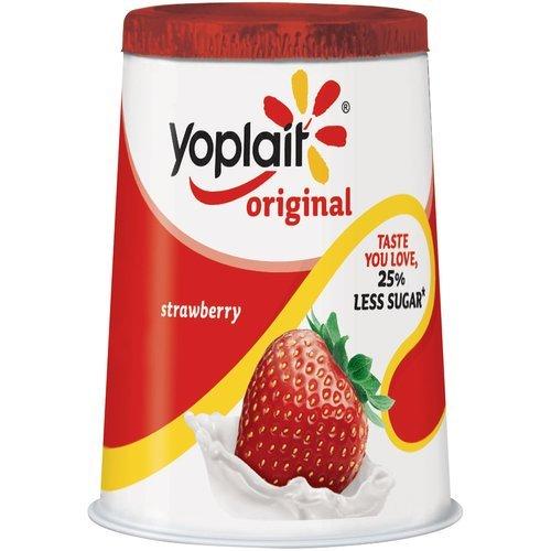 YOPLAIT YOGURT ORIGINAL STRAWBERRY 6 OZ PACK OF 8