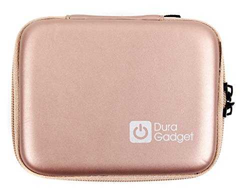 DURAGADGET Hard Shell EVA Box-Style Case in Rose Gold - Compatible with the Air Hogs Helix Race Drone 2.4GHz RC Vehicle | Red