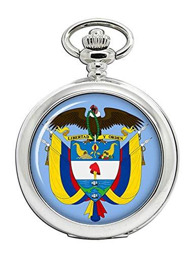 Colombia Reloj Bolsillo Hunter Completo