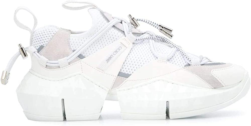 Jimmy choo luxury fashion,sneakers per donna,in poliestere 60%, pelle 40% DIAMONDTRAILFEHL