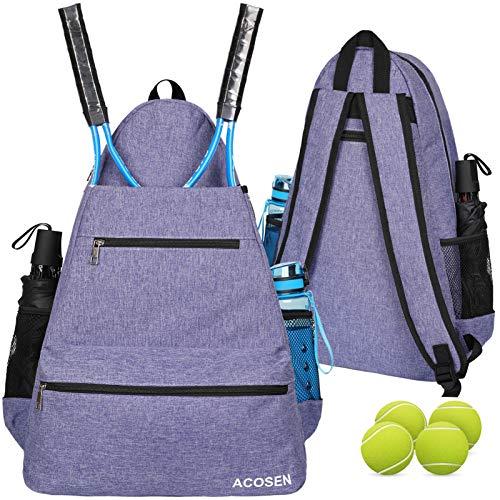 ACOSEN Tennis Bag Tennis Backpac...