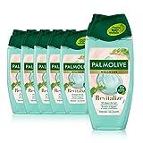 Palmolive Duschgel Wellness Revitalize 6 x 250ml - mit Algen-Extrakt und ätherischen Ölen