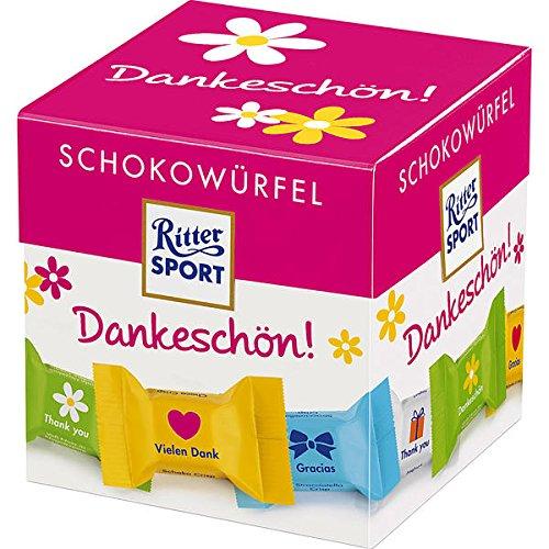 Ritter Sport Schokowürfel Box Dankeschön, 8er Pack ( 8 x 176g)
