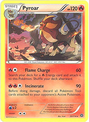 Pokemon - Pyroar (23/114) - XY Steam Siege