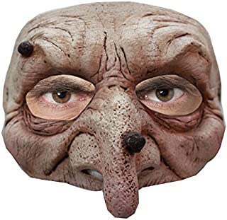 Ghoulish Productions Wart Wizard Latex Half Mask