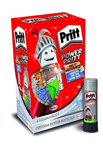 Power Pritt Lot de 15 bâtons de colle universelle 19,5 g
