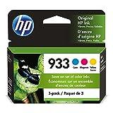 HP 933 | 3 Ink Cartridges | Cyan, Magenta, Yellow |...