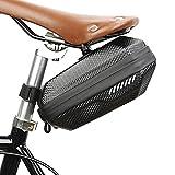 Bolsa para sillín de bicicleta, impermeable, gran capacidad, bolsa de almacenamiento para bicicleta debajo del asiento, bolsa ligera para la cola de ciclismo, equipo de ciclismo