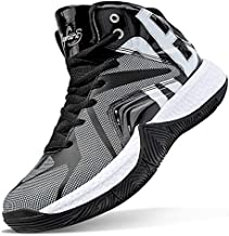 ASHION Kids Basketball Shoes Boys Girls High-Top Sneakers Non-Slip Sport Shoes(Little Kid/Big Kid)