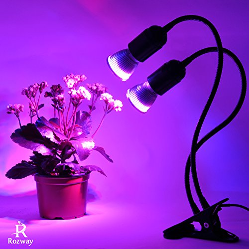 Grow Light, Rozway Grow Lamp for Indoor...