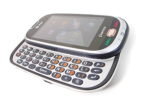 AT&T Unlocked Pantech Ease P2020 No Contract GSM Sliding Keyboard Touchscreen 2G Cell Phone