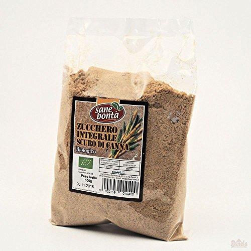 Zucchero integrale scuro di canna biologico 500 g