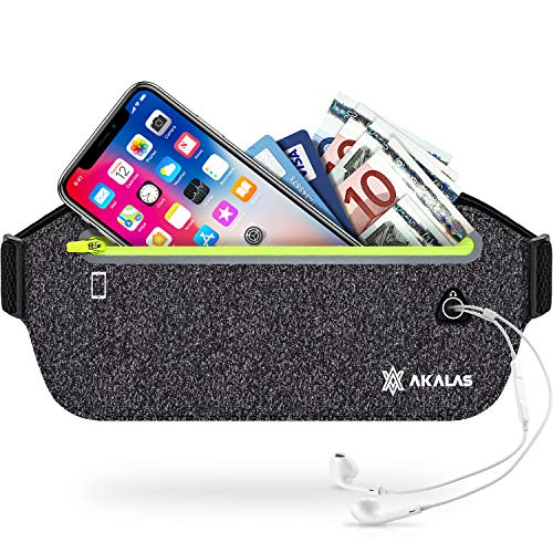 Water Resistant Runners Belt Fanny Pack for Hiking Fitness Diniiko Running Belt Waist Pack Adjustable Running Pouch for All Kinds of Phones
