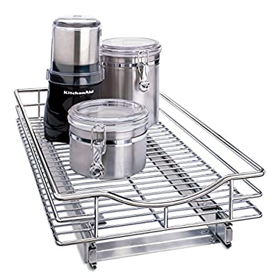 Lynk Professional Organizer Pull Out Under Cabinet Sliding Shelf from Lynk Professional