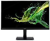 Acer KA241Ybidx Monitor da 23,8', Display Full HD (1920x1080), Frequenza 60 Hz, Contrasto 100M:1, Luminosità 250 cd/m2, Tempo di Risposta 4 ms, VGA, DVI (w/HDCP), HDMI, Audio Out, Nero