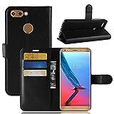 ECENCE ZTE Blade V9 Phone Case Cover Wallet Flip Magnet Bag