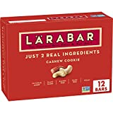 HEALTHY SNACKING: With 100% real ingredients and no artificial sweeteners, you can Raise A Bar to what you love! Larabar makes simple healthy snacks you can feel good about eating MADE FROM 2 SIMPLE INGREDIENTS: Larabar Cashew Cookie is made from jus...