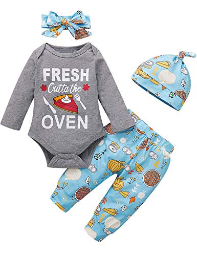 Newborn Boy Girl Thanksgiving Outfits Baby First...
