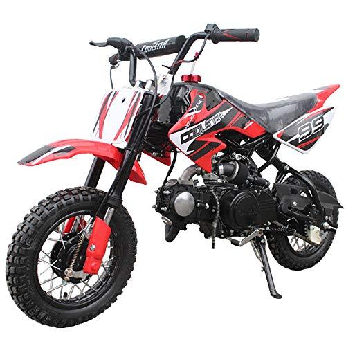 Dirt bike 70cc Semi Automatic, Red