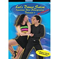 Let's Dance Salsa Begin Less 1 [DVD]