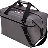 AO Coolers Original Soft Cooler with High-Density Insulation, Charcoal, 24-Can