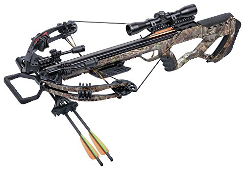 CenterPoint Tormentor Whisper 380 Camo- Crossbow Package