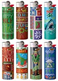BIC Ugly Sweater Series Lighters Special Limited Edition Set of 8 Lighters